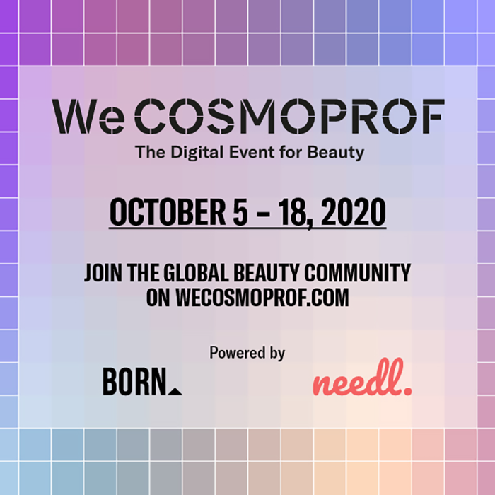 WeCOSMOPROF Save the Date