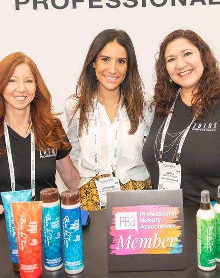 PBA Members posing with their products